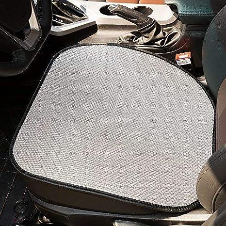 Amazon.com: FREESOO - Cojín para asiento de coche, funda de ...