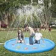 KKONES Sprinkler Pad & Splash Play Mat 68