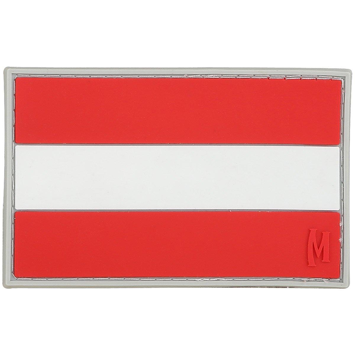 Pleine Couleur Moral Patch Maxpedition Autriche Flag