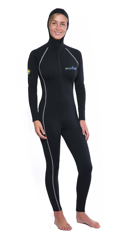 Women Full Body Swimsuit Stinger Suit Dive Skin Hooded UV Protection Swimwear A102-H