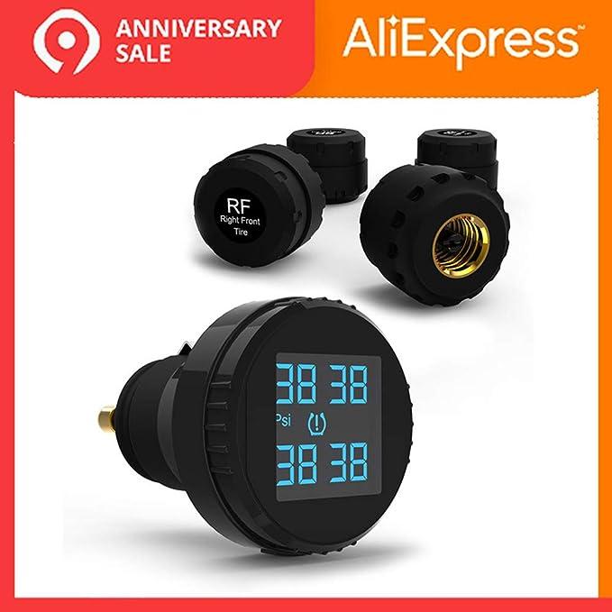 Hadeyicar Sistema de monitoreo de presión de neumáticos TPMS ...