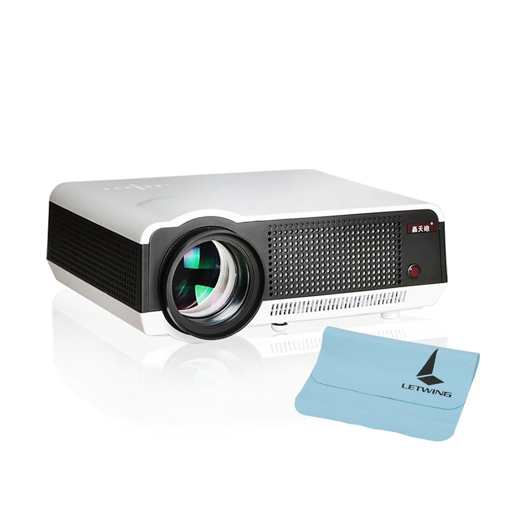 letwing Digital 3d LED86 Full HD 1080p, 3200 Lúmenes Proyector ...