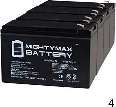 PowerWare PWHR1234W2FR UPS Replacement Battery
