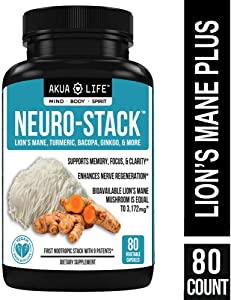 Organic Lion's Mane Mushroom Capsules- +26 Additional Nootropics – Vegan Nootropic Stack & Absorption Enhancers for MAX Focus Sweepstakes