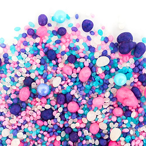 Candy Sprinkles | Cupcake Candyfetti | 8oz Jar | Purple Pink and Blue | MADE IN THE USA! | Edible Confetti by Sweets Indeed