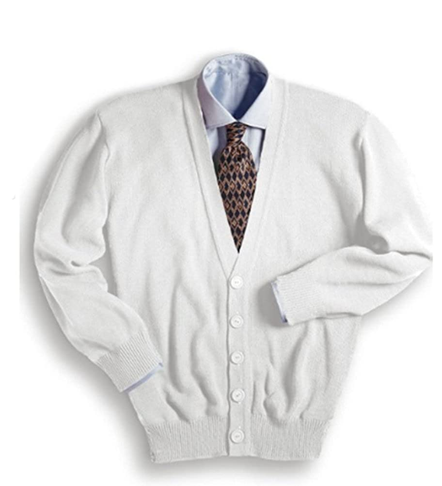 Edwards Garment Men's V-Neck Cardigan at Amazon Men's Clothing ...