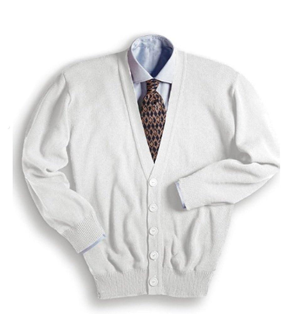 Edwards Garment Men's V-Neck Cardigan at Amazon Men's Clothing ...