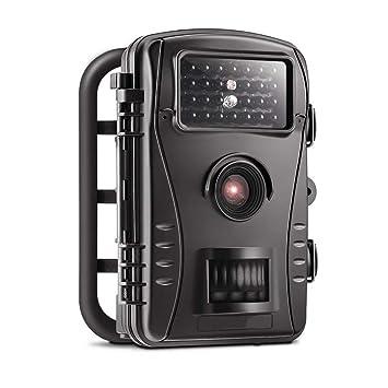 Seguimiento De La Vida Silvestre Cámara Trampa 12MP 1080P Infrarrojos LED Excelente Visión Nocturna Efecto Movimiento