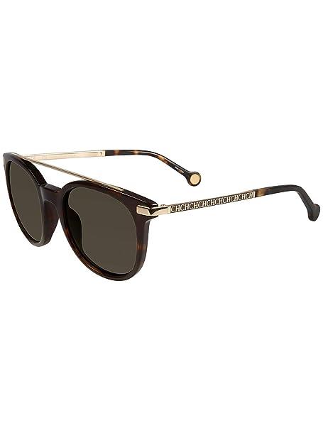 Carolina Herrera SHE690 BLACK GOLD / DARK GREY (722) - Gafas ...