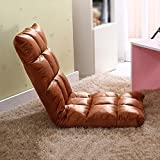 Floor sofa / single floor sofa chair / folding sofa bed / back bay window chair ( Style : N )