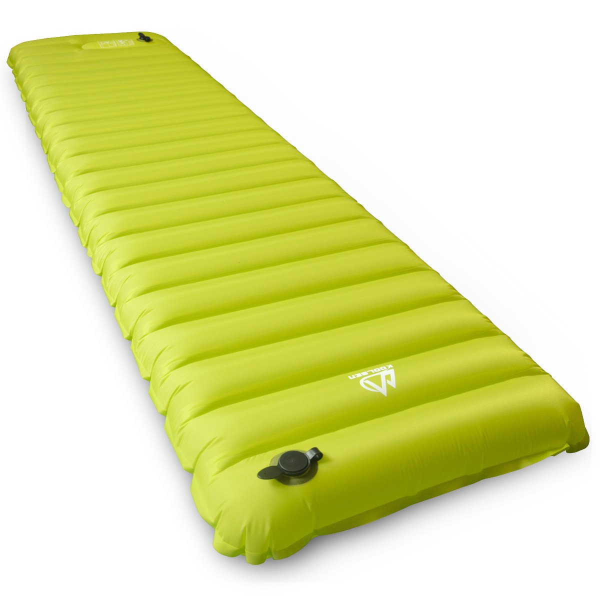 koolsen camping pad inflatable air mattress with built in pump for camping backpacking hiking
