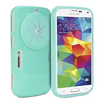 huge selection of 1343a 82234 Galaxy K Zoom Case, GMYLE Zoom Case with Lens Cover for Samsung Galaxy K  (S5 Zoom) - Mint Green TPU Protective Soft Case with Camera Lens Cover