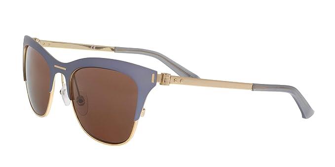 Calvin Klein Gafas de sol, Azul (Blue), 53.0 para Mujer ...