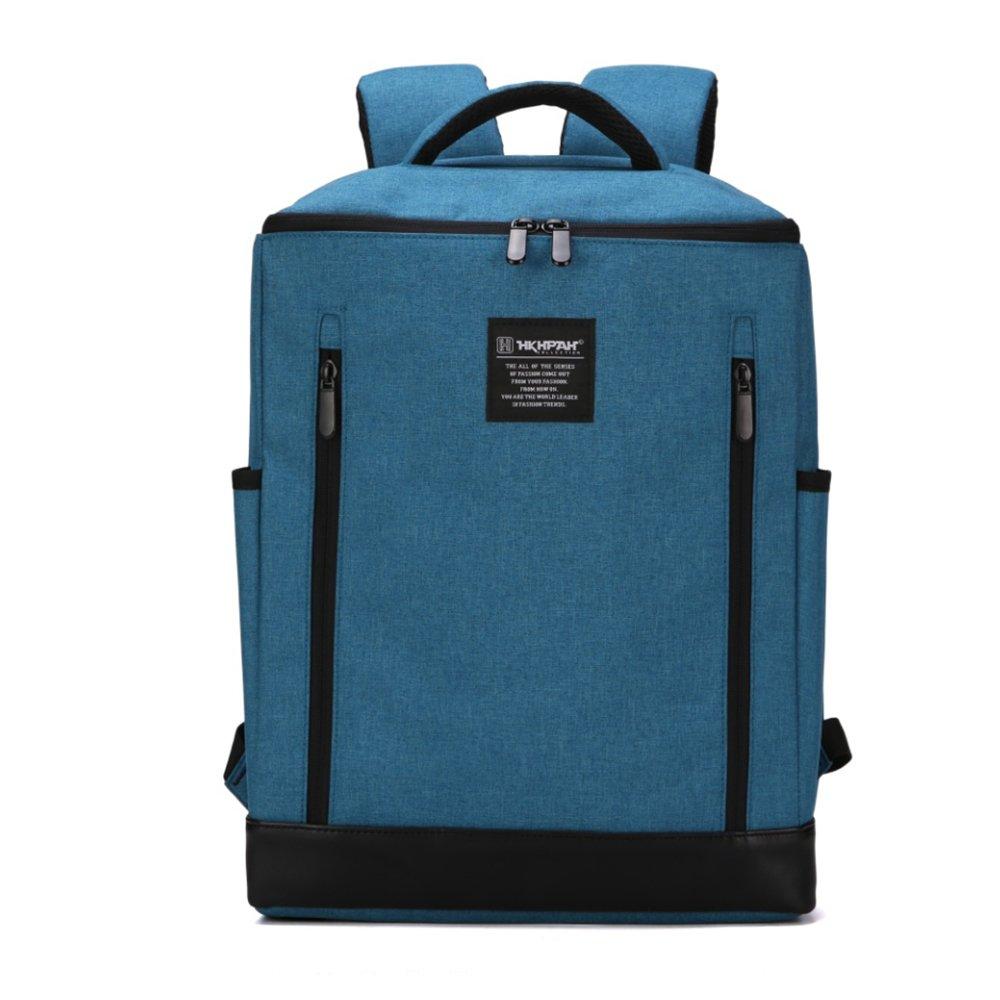 軽量フォールディングチェアー いつでもどこでも座れるリュック リュックサック 多機能【耐過重100kg】 ピクニックバッグチェア キャンプ/釣り/スポーツイベント/テールゲート/ハイキング/ピクニックなどに最適 椅子が取り外すできる B07872H2QJ ブルー ブルー