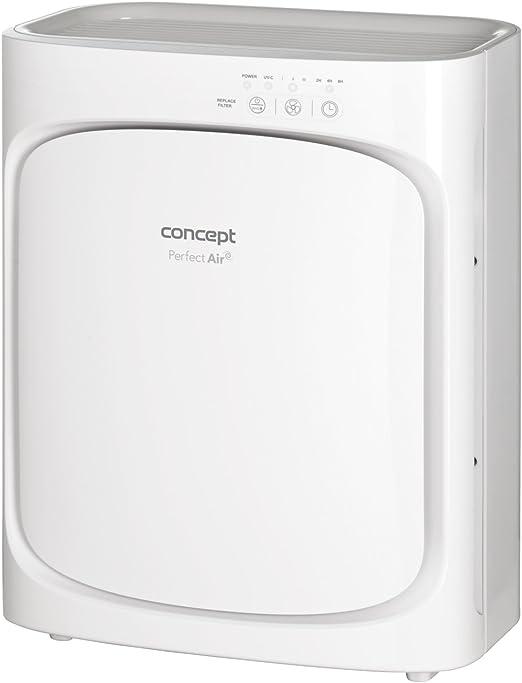 Concept Electrodomésticos CA1000 Purificadores de aire, W, 55 Decibelios, 3 Velocidades, Blanco: Amazon.es: Hogar