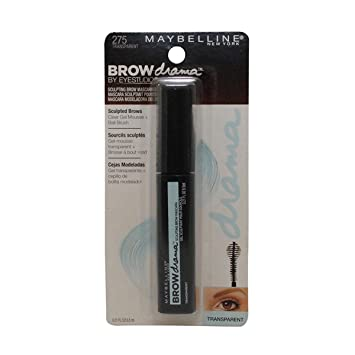 Maybelline New York Brow Drama by Eyestudio Sculpting Brow Mascara, Transparent [275] 0.21
