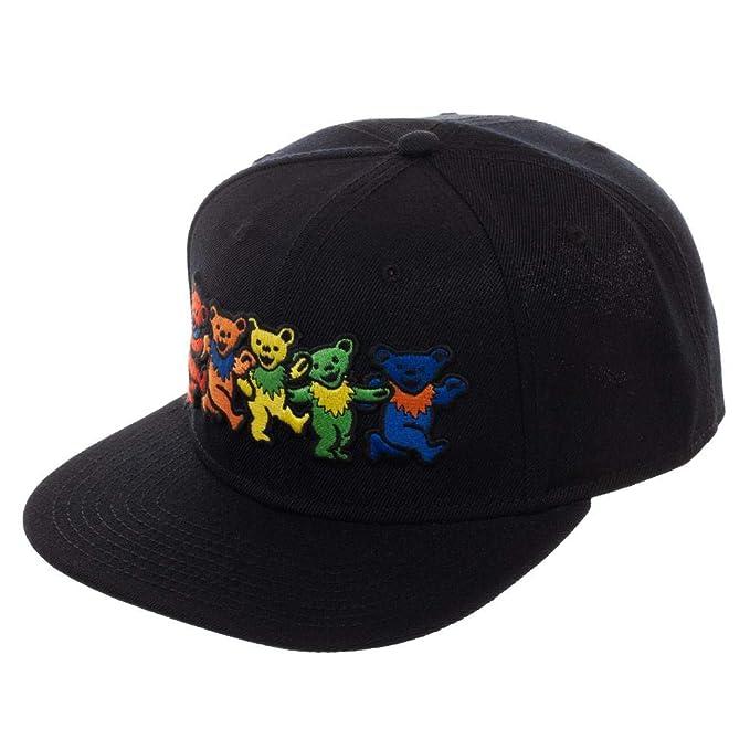 Amazon.com  Bioworld Grateful Dead Marching Bears Snapback Hat  Clothing 3cc55194820e