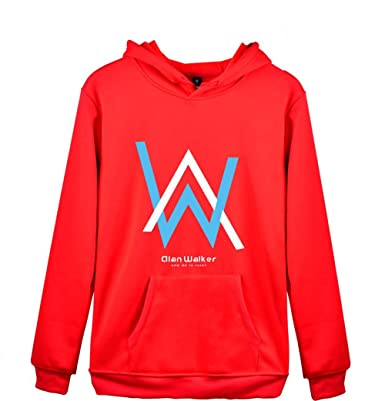 BESTHOO Alan Walker Abrigo con Capucha Sueter Casual Sudaderas Jacket Coat para Novio Y Novia Carta ImpresiÓN Hoodie Jacket Coat Outwear: Amazon.es: Ropa y ...