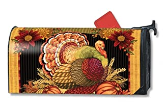 Magnet Works Mailbox Cover - Thankful Turkey 00149