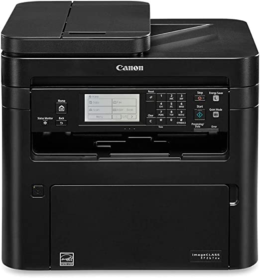 Canon imageCLASS MF267dw All-in-One Laser Printer, AirPrint, and Wireless Connectivity, Black, 1