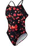 Nike Splatter Cut-Out Swim Team Suit - One Piece TFSS0001- 640 Red Size-20