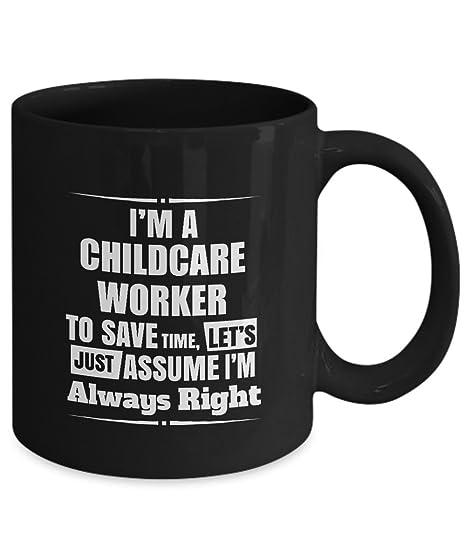 Amazoncom Childcare Worker Coffee Mug Im A Childcare