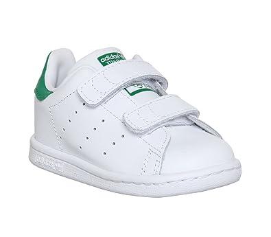 adidas Stan Smith Bébé Blanche Blanc 27: : Chaussures et Sacs
