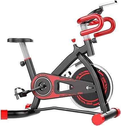 Bicicleta Estática de Fitness, Bici Spinning Bicicleta Fitness Bicicleta de Ejercicio de Interior Asiento Ajustable Actividades en el Interior,Capacidad Máxima de Carga 150 (kg): Amazon.es: Deportes y aire libre