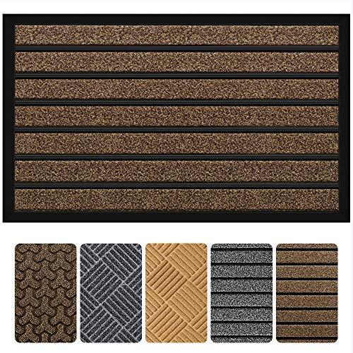 Outside Shoe Mat Rubber Doormat for Front Door 17