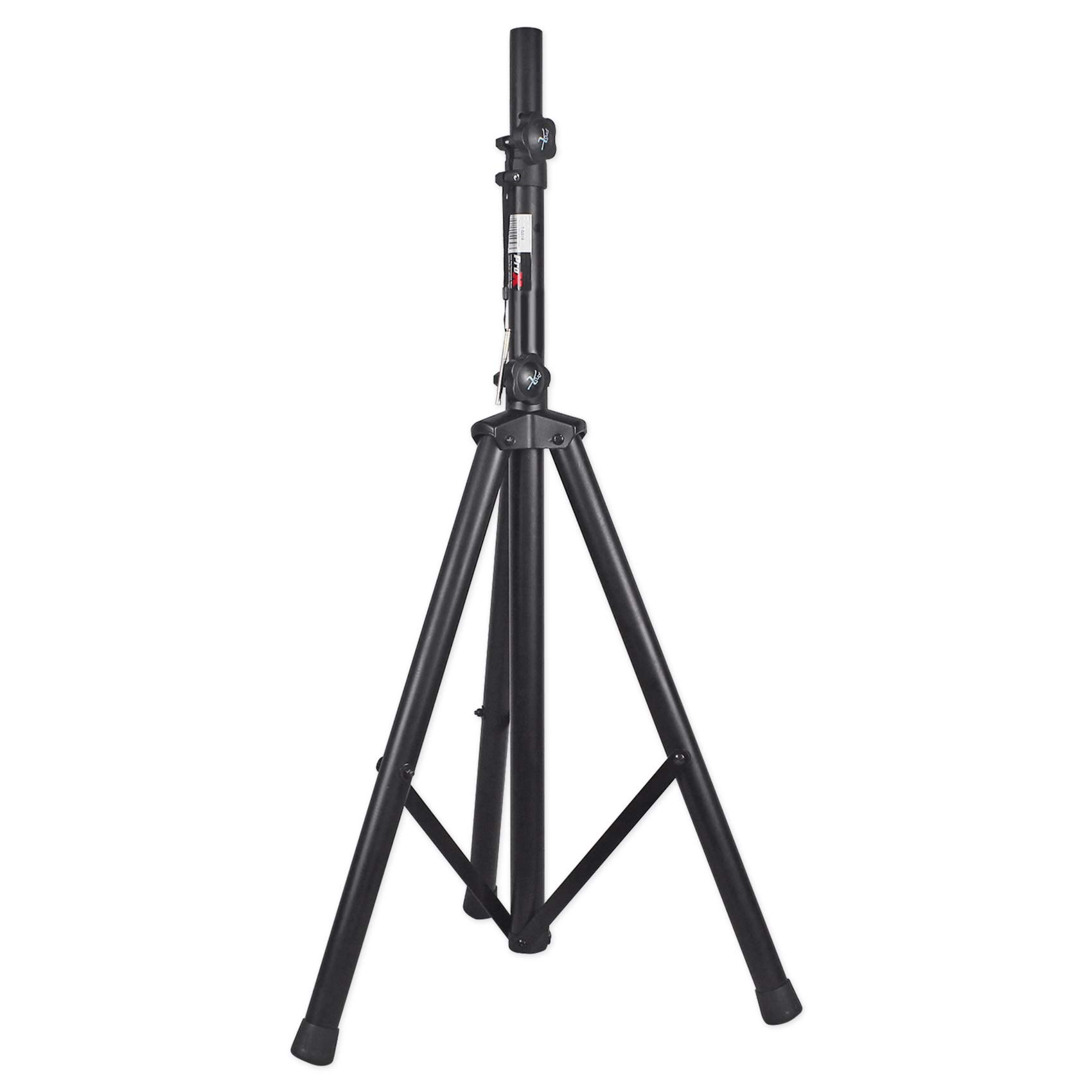 ProX Cases T-SS18 Black Heavy Duty Tripod Pole-Mount Professional Speaker Stand With Non-Slip Rubber Feet And Black Powder Coat Finish by PRO X CASES