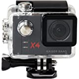 Kaiser Baas X4 Action Camera - Black