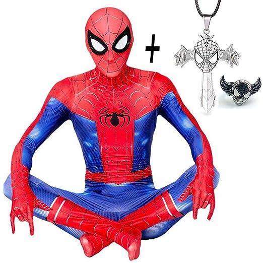 DSFGHE Peter Parker Adulto Hombres Medias Jugar Disfraz Spiderman ...