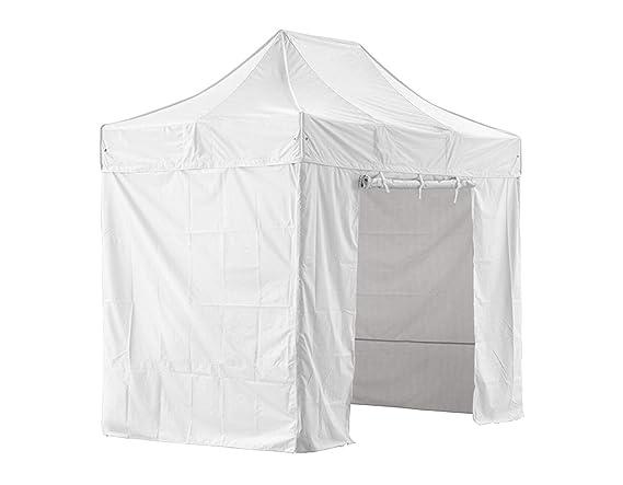 GREADEN - Tienda de campaña plegable blanca con 4 paredes ...