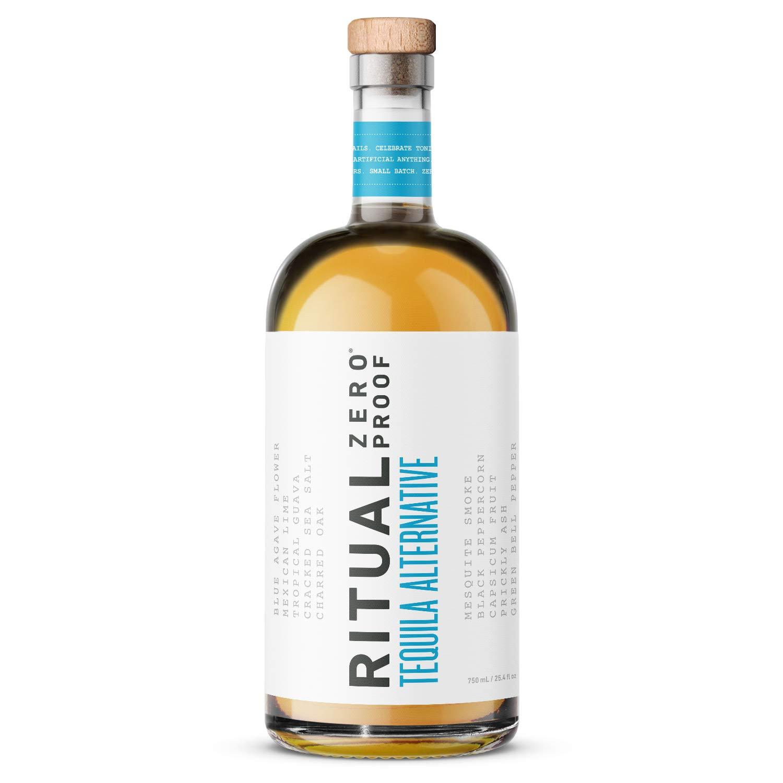 RITUAL ZERO PROOF Tequila Alternative | Award-Winning Non-Alcoholic Spirit | 25.4 Fl Oz (750ml) | Zero Calories | Keto, Paleo & Low Carb Diet Friendly | Make Delicious Alcohol Free Cocktails