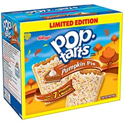 Kellogg\'s Pop-Tarts - Pumpkin Pie (Limited Edition) - 12 Toaster Pastries, 21.1-oz. Box