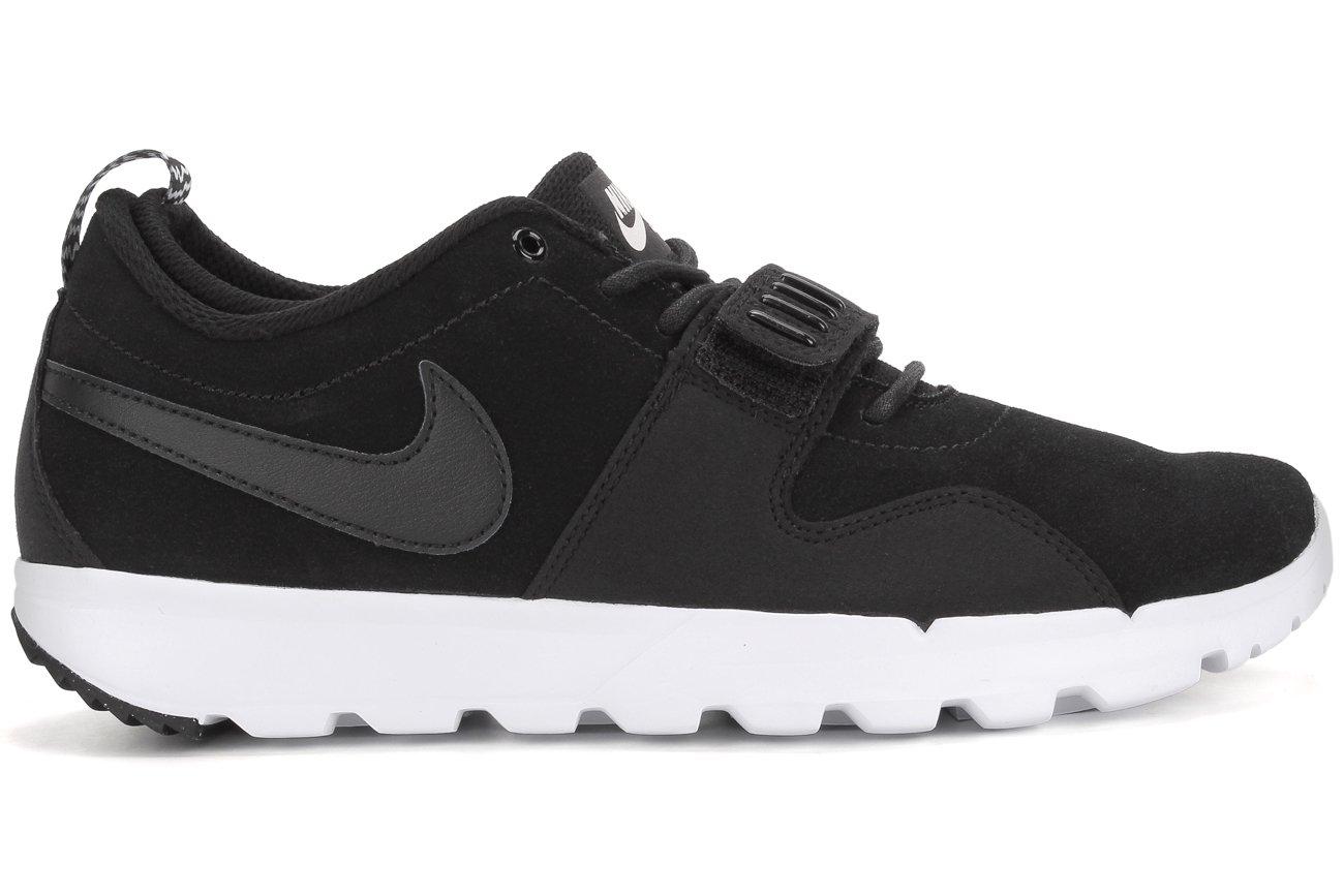 Nike Trainerendor L Zapatillas de Skateboarding, Hombre 42 EU Negro / Blanco (Black / Black-white)