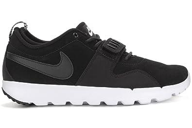 timeless design 0ced7 5498a Nike Trainerendor L, Chaussures de Skate Homme, Noir-Blanc, 40 EU