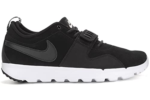 brand new b8095 4898e Nike Trainerendor L, Men s Low-Top Sneakers, Black (Black   Black-