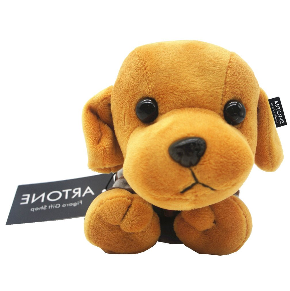 Artone Fuzzy Dressed Dachshunds Dog Pencil Pen Case Stationery Pounch Cosmetic Bag