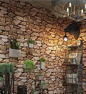 Steintapete 3d Optik Tapete Steinoptik Moderne Wanddeko Design Pvc