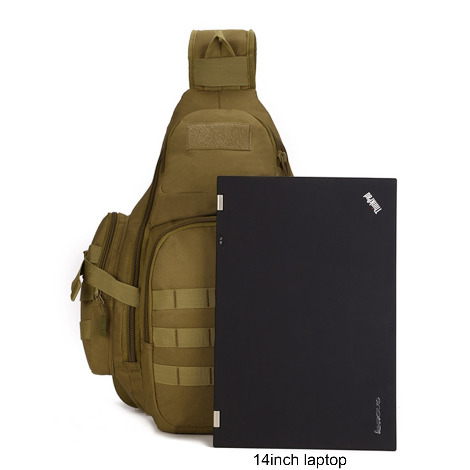 Tactical Sling Pack Backpack Military Shoulder Chest Bag by Sunvp  Amazon.co.uk   Sports   Outdoors f6e373177390d