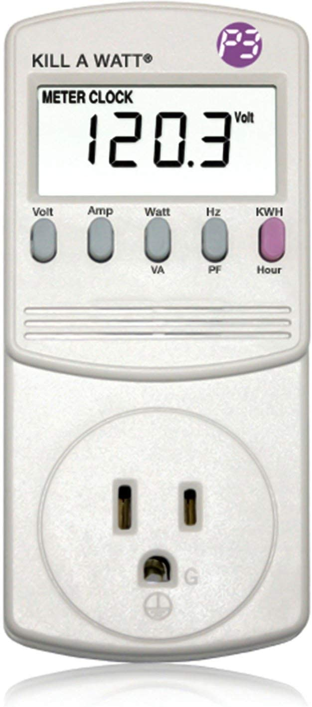 P3 P4400 Kill A Watt Electricity Usage Monitor: Home Improvement