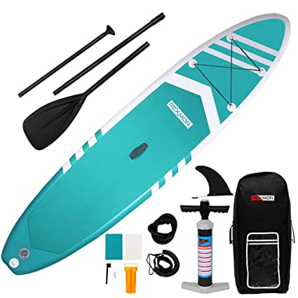 Amazon.com : PEXMOR Paddle Board Inflatable SUP Stable Wide ...