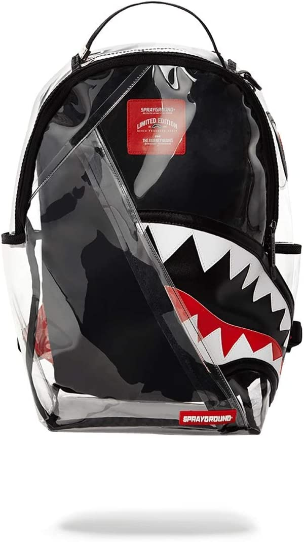 SPRAYGROUND BACKPACK ANGLED 20/20 VISION SHARK