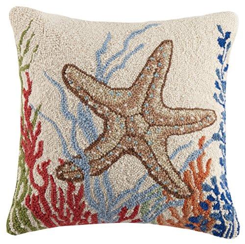 (Peking Handicraft Starfish Hook Pillow Multicolored)