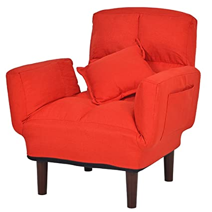 Amazon.com: Lazy Sofa Chair Lounge Chair Bedroom Reading Chair Small ...