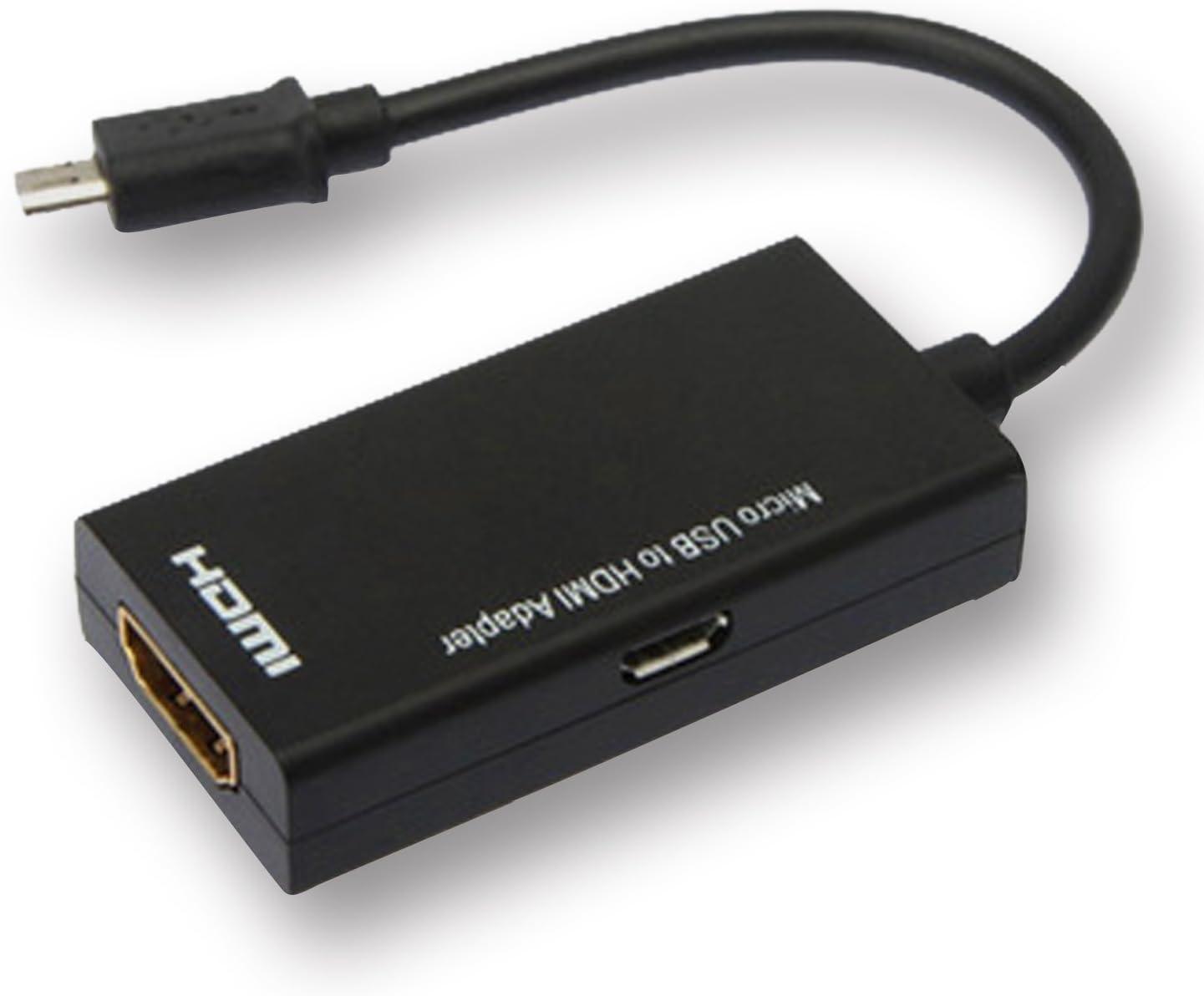 Homiki - Adaptadores DVI-HDMI cortos de Mini Micro USB 2.0 a HDMI ...