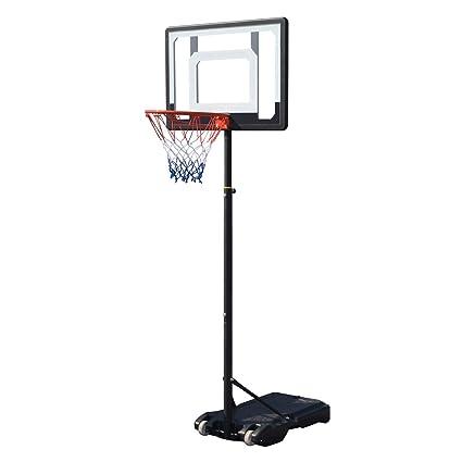 Amazon.com   Meharbour Youth Portable Mini Basketball Hoop System ... cd61d8b640