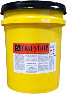 Tru-Strip | Industrial Strength Sealer Stripper for Acrylics, Urethanes, Glues, Epoxies Walttools (5 Gallon)