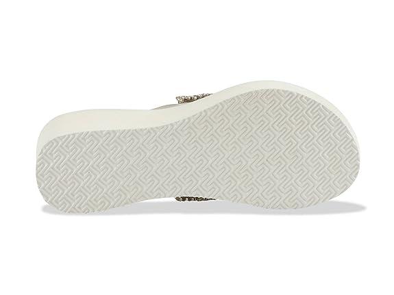 54a3b62998 Amazonas Infradito con la Zeppa Donna Plat Luxury Bianco: Amazon.it ...
